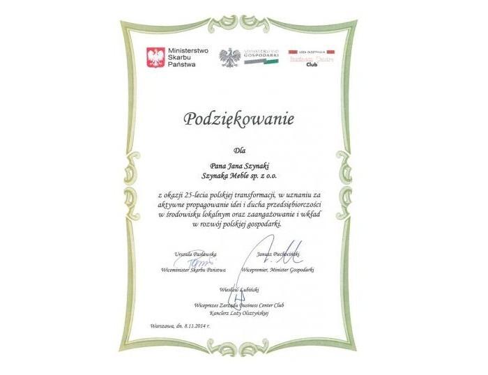 25-Lecie Polskiej Gospodarki